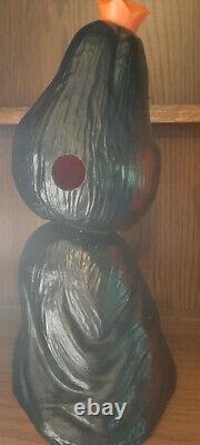 Vintage Halloween Hard Plastic Blow Mold Tweat Rare Decoration Union Products
