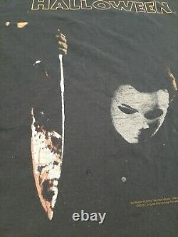 Vintage Halloween Michael Myers Dbl Sided Shirt'06 RARE Distressed (Anvil)