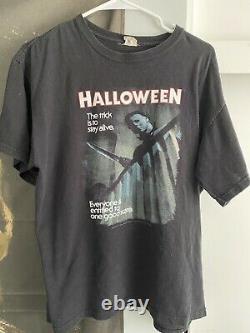 Vintage Halloween Movie Shirt 90s Michael Myers size Large RARE