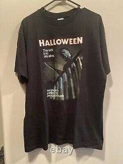 Vintage Halloween Movie Shirt Horror Size Large Michael Myers Early 2000s Rare