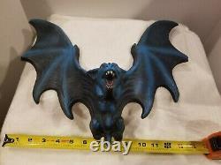 Vintage Halloween Vampire Bat 3D Rubie's Costume Company NYC RARE 16W×13Hx4D