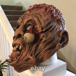 Vintage MEGA RARE 1995 1996 Don Post HEAD-ON 80870 Latex HALLOWEEN Mask Zombie