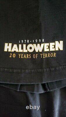 Vintage Michael Myers Halloween 20 Years vintage t shirt XL RARE