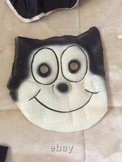 Vintage Rare Felix The Cat Halloween Costume #6282