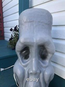Vintage Rare IPL Long Faced Ghost Blow Mould