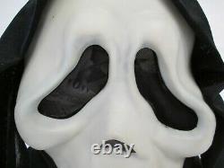 Vintage SCREAM Ghost Face Mask Fun World Div Rare Glow In The Dark 90s
