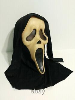 Vintage SCREAM Ghost Face Mask Gen 1 Fun World Glow Fantastic Faces 90s 1st Rare