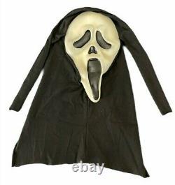 Vintage Scream FANTASTIC FACES GHOSTFACE Mask Fun World Div COTTON Glow RARE 90s