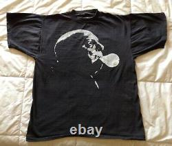 Vintage -The Addams Family Uncle Fester 1980s T Shirt Single Stitch Rare