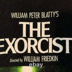 Vintage The Exorcist T Shirt Horror Movie Promo Rare Halloween Cult Classic XL