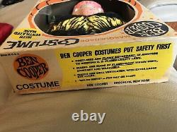 Vintage WOLFMAN Ben Cooper Halloween Costume in Box 1960s RARE