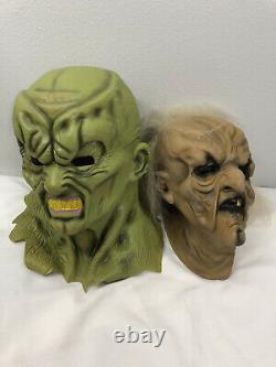 Vintage rare Goosebumps Latex Masks The Haunted MASK
