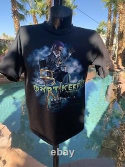 Vintage used 1996 Halloween Horror Night T-shirt size XXL super rare