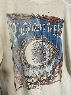 Vtg Halloween Grateful Dead Athens Ohio 1998 Long Sleeve Thrashed TShirt L Rare