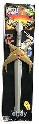 Vtg Hasbro Takara Battle Beasts Warrior Sword Halloween Laser Imperial Rare 1986