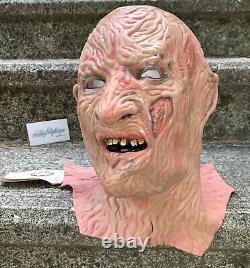 Vtg ORIGINAL 1986 Nightmare On Elm Street DON POST FREDDY KRUEGER Mask RARE 80s