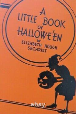 1934 Antique Vintage Halloween Livre / Sechrist / 1934 / Rare