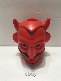 Années 1960 Vintage Halloween Peerless Devil Blow Moule Rare Remplacement Pour Ensemble De Lumière
