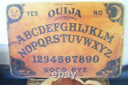 Antique Vintage Rare Wood Ouija Board Mystic Graphics Halloween Party Etats-unis