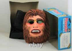 Ben Cooper Big Foot Déguisement D'halloween Rare Vintage Masque Monster 1970 Jouets