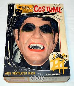 Dark Shadows Barnabas Costume Spook Town Ben Cooper Jonathan Frid Vintage Rare