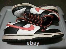 Dunk Low Halloween 2007 Jack O Lantern Shoes Sz 7y Vg 6/10 Rare Clean Htf Vtg