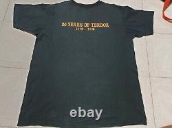 Film D'horreur D'halloween T-shirt Vintage Rare Michael Myers, John Carpenter XL