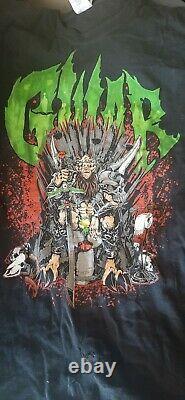 Gwar T Shirt Sdcc Exclusive 1/200 Heavy Metal Slave Pit Vintage XL Très Rare