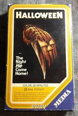 Halloween 1978 Film Beta (pas Vhs) Vintage & Original Very Rare Horror