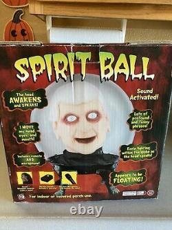 Halloween Vintage Gemme Grand Spirit Ball Dr. Shivers Sound Motion Rare
