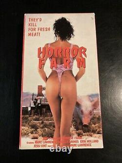 Horror Farm Vhs Hqv Vintage Cult Rare Horror Splatter Gore