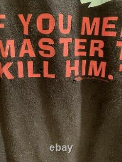 Marilyn Manson Originale Meet Your Master T-shirt Lg Vintage Winterland Very Rare