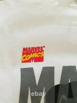 Marvel Comics 1995 Spiderman + Venom Vintage Shirt Classic Heroes Rare Authentic