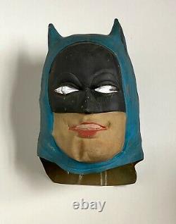 Masque De Batman Rare Vintage