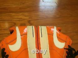 Nike Air Force 1 Faible Scarface D'halloween 2006 10.5 Rare Vtg Skeleton Sbb Electro