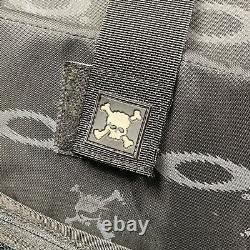 Oakley Hard Shell Backpack Vintage Rare Case Custom Loch Ness Monster Peint