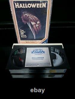 Original Vintage Halloween 1978 Beta Movie (pas Vhs) Rare Horror Betamax Media