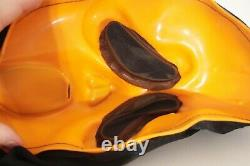 Pâques Unlimited Orange Rare Vtg Scream Stamped Ghostface Mask Fun World #9207