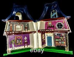 Rare 1976 Vintage Weebles Maison Hantée Fantôme Complet Sorcière Halloween Withbox Euc