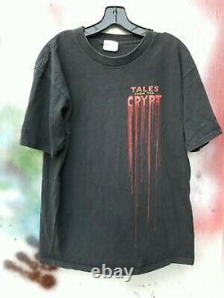 Rare 90s Contes De La Crypt Vintage T-shirt Malédiction De Crypt Keeper Halloween