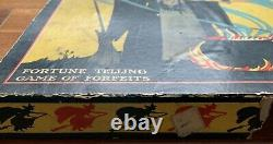 Rare Antique Witzi Wits Fortune Teller Jeu Vintage Halloween Collection