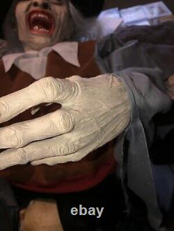 Rare Fitco Witch Prop Latex Spirit Halloween Htf Gemmy Morbid Prop Vintage