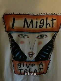 Rare Fred Babb T Shirt XL 1990s Je Pourrais Jouer Un Trick Halloween T 100% Coton