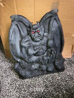 Rare Latex Halloween Prop Spirit Gemmy Morbid Gargoyle Vintage