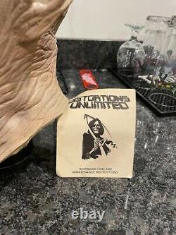 Rare Marqué Vintage Distortions Unlimited Début Des Années 1980 Methuselah Masque D'halloween