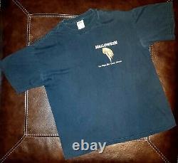 Rare Vintage 90s Halloween Michael Myers 2 Côtés Film Promo T-shirt