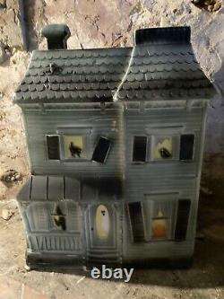 Rare Vintage Don Featherstone Halloween Haunted House Blow Mold 1995