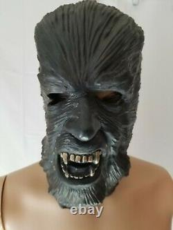 Rare Vintage Don Post Studios 1976 Masque D'halloween Épais Des Années 1970 Loup-garou Wolfman