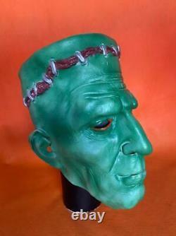 Rare Vintage Frankenstein Masque D'halloween Fabriqué En Chine