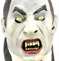 Rare Vintage Illusive Concepts Latex Vampire & Frankenstein Masque Full Head